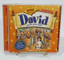 David and His Giant Battle Mini Edition CD Story & Songs