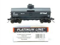HO Scale Walthers Platinum Line 932-42202 CP Canadian Pacific Tank Car #415383