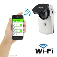 WiFi Funkschaltsteckdose iOS Android Steckdose Schalter iPhone Funksteckdose