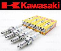 Set of (4) NGK DPR6EA-9 Spark Plugs Kawasaki (See Fitment Chart) #92070-1138