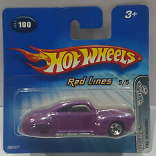 HOT WHEELS 2005 TAIL DRAGGER Red Lines 5/5 g6827