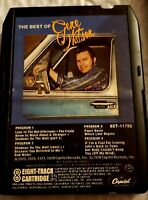 Vintage 8 Track Tape Best Of Gene Watson Untested