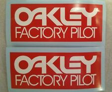 Oakley Vintage Motocross  sticker  Fox RM YZ CR KX 125 250 400 420 465 500 AHRMA