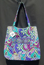 "Vera Bradley Curvy Tote Purse Bag in ""HEATHER""  NWT& From a No Smoking Home."