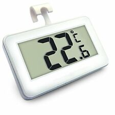 LCD Fridge Freezer Thermometer Waterproof Hanging Hook Magnet Stand UK Seller
