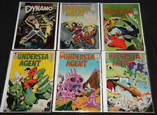 Silver Age TOWER COMIC TITLES 6pc Comic Lot Grade FN- to FN+ T.H.U.N.D.E.R Agent