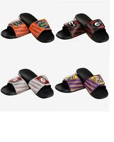 Mens NCAA Legacy Sport Slide Water Sandals Flip Flops - Pick Team