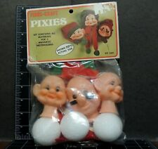 Pixies Magnetic Noteholders Fibre Craft Christmas Sewing Kit Dolls new old stock
