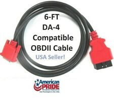 6FT OBDII OBD2 Cable Compatible with Snap on DA-4 for SOLUS EDGE Scanner EESC320