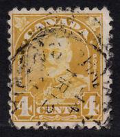 Canada Scott 152 4 cent Used