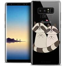 "Coque Crystal Gel Pour Samsung Galaxy Note 8 (6.3"") Extra Fine Souple Sweetie Ra"