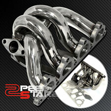 HONDA CIVIC/CRX/DEL SOL D15/D16 T3 T3T4 TURBO FLANGE STAINLESS MANIFOLD+GASKET