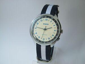 Vintage ✩ USSR ☭ watch RAKETA POLAR cal. 2623 24 Hours