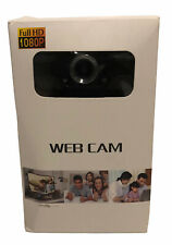HD 1080P Webcam with Microphone USB Camera For PC Laptop Desktop Video Call