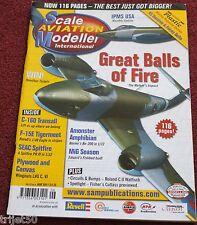 Scale Aviation Modeller 17.6 Transall,Meteor,LVG,Beriev,F-15,Spitfire,Roland
