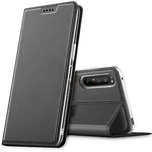 Flip Case For Sony Xperia 5 II Case Mobile Phone Pocket Slim