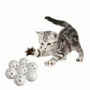 10pcs 24mm Squeaker Plastic Bell Balls Baby Toys DIY Beads Noise-Maker
