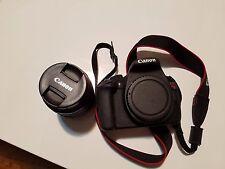 Canon EOS Rebel T5 / EOS 1200D 18.0 MP Digital SLR Camera - Black (Kit w/...