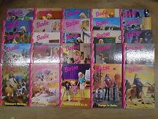 * 25 FUN-FILLED BARBIE & FRIENDS BOOKS by GROILER BOOKS * UK FREE POST * H/B