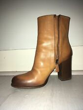 leather prada ankel boots milano dal 1913 virtually unworn