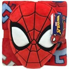 Spiderman Matching Plush Pillow and Blanket Set