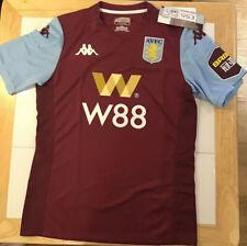 2019-20 Kappa Men's Aston Villa Home Soccer Jersey Medium