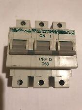Polestar D63 3PH MCB 10K Used Crabtree Mcb