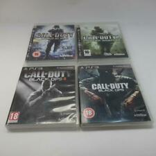 PS3 Playstation Video Games, Call of Duty Black Ops 1&2, MW4 & World at War