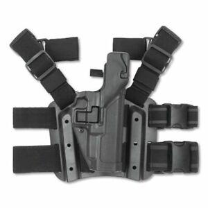 BlackHawk Serpa Tactical Holster Lvl 3 Fit S&W M&P 9MM/.40 430625BK-R Right Hand