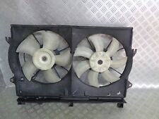 2007 TOYOTA AVENSIS D4D 2L 5DR COOLING RADIATOR TWIN FAN 16363-0G060