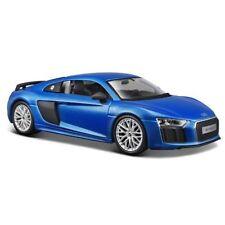 Coches, camiones y furgonetas de automodelismo y aeromodelismo color principal azul de plástico Audi