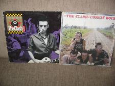 The Clash – Combat Rock GREEK EDITION LP + Big Audio Dynamite II SINGLE 2 LP's