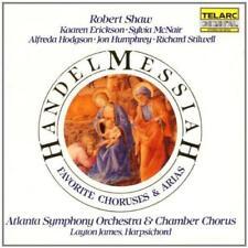 Handel: Messiah: Favorite Choruses And Arias - Atlanta So/Robert Shaw (NEW CD)