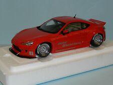Autoart 1/18 Toyota 86 Rocket Bunny. Red/Silver Wheels MiB