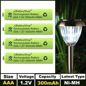 AAA 300mAh 1.2v NiMH Rechargeable Solar Light Batteries for UK Garden Lights