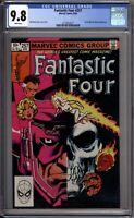 Fantastic Four 257 CGC Graded 9.8 NM/MT Galactus Marvel Comics 1983