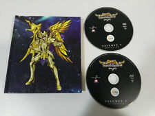SAINT SEIYA SOUL OF GOLD VOL 2 - BLU-RAY + DVD LIBRO ESPAÑOL JAPONES &