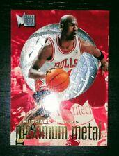 Michael Jordan 1996-97 Fleer Metal Maximum Metal #4 SSP Insert SUPER RARE