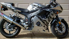 Tribal Flame Decal Kit for GSXR 600 750 1000  CBR600RR CBR1000RR R6 R1 ZX6R ZX10