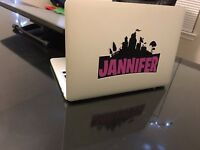 PERSONALIZED VIDEO GAME THEME VINYL DECAL / LAPTOP / VEHICLE/ WALL