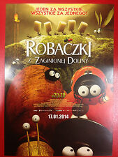 Thomas Szabo - Minuscule - La vallée des fourmis perdues - Polish promo FLYER