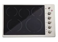 GE CP350ST Stainless Steel 30 in. Electric Electric Cooktop