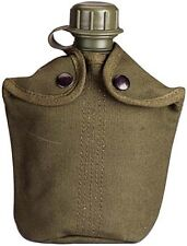 Military Tactical Heavy Weight Canvas Canteen Cover - Fits 1 Quart Canteens