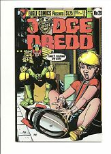 Eagle Comics Presents Judge Dredd #29 NM 9.4 1986 See my store
