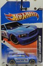 DODGE BOYS CHARGER POLICE CAR BLUE SRT8 MOPAR 110 2 FTE 010 HW HOT WHEELS