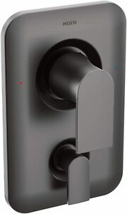 Moen T2470BL Genta LX Posi-Temp Diverter Valve Trim Kit-Matte Black (862)