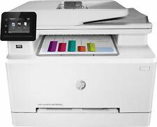 HP - LaserJet Pro M283fdw Wireless Color All-In-One Laser Printer - White