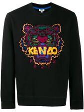 KENZO Tiger Sweatshirt Black/Multi Men's, All Sizes - NEW