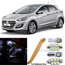For 2011-2018 Hyundai I30 LED Interior Kit Premium 7 SMD Bulbs Xenon White GD SW