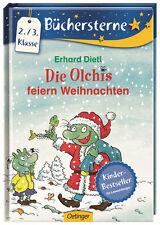 Die Olchis feiern Weihnachten Erhard Dietl Lesen lernen 2.-/3. Klasse +BONUS